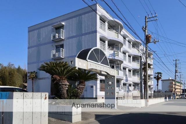 徳島県吉野川市、鴨島駅徒歩10分の築23年 4階建の賃貸マンション