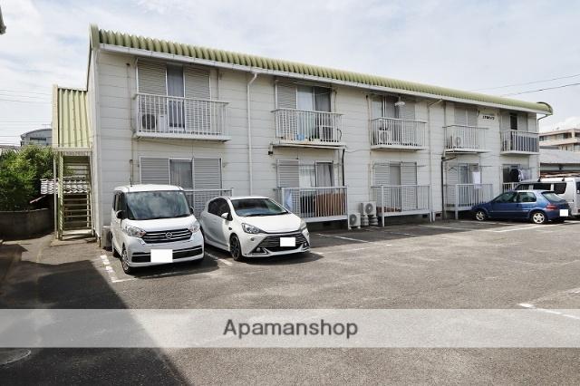 徳島県吉野川市、鴨島駅徒歩10分の築28年 2階建の賃貸アパート