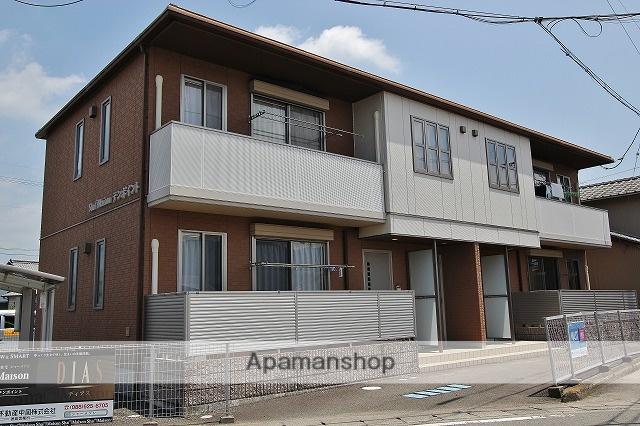 徳島県吉野川市、西麻植駅徒歩3分の築8年 2階建の賃貸アパート