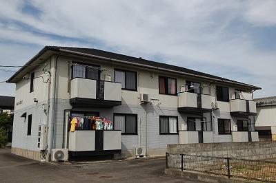 徳島県吉野川市、山瀬駅徒歩10分の築17年 2階建の賃貸アパート