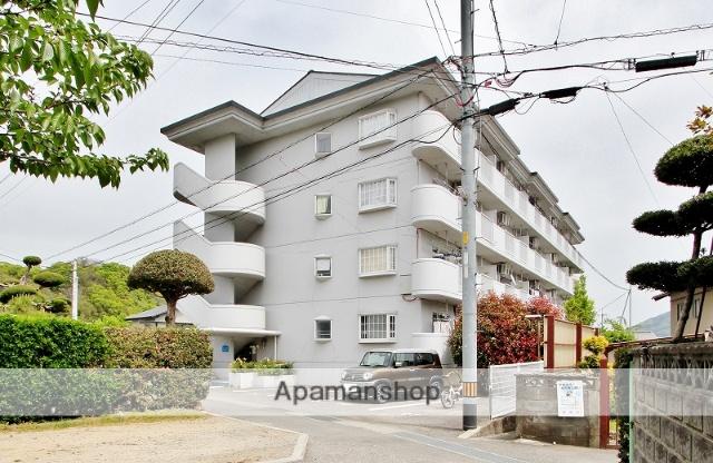 徳島県美馬市、穴吹駅徒歩50分の築23年 4階建の賃貸マンション