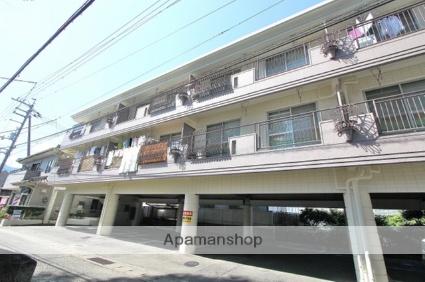 徳島県吉野川市、鴨島駅徒歩7分の築27年 3階建の賃貸アパート