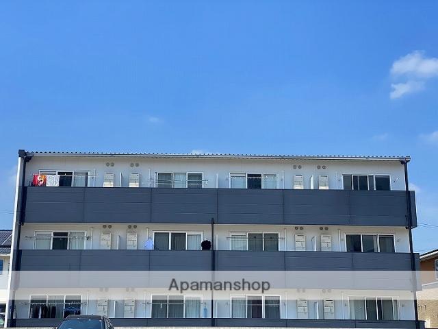 徳島県吉野川市、鴨島駅徒歩7分の新築 3階建の賃貸マンション