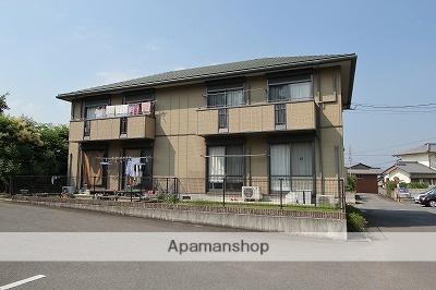 徳島県吉野川市、西麻植駅徒歩20分の築14年 2階建の賃貸アパート