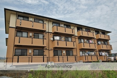 徳島県板野郡上板町、板野駅徒歩80分の築20年 3階建の賃貸アパート