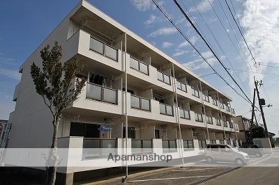 徳島県吉野川市、鴨島駅徒歩13分の築27年 3階建の賃貸マンション