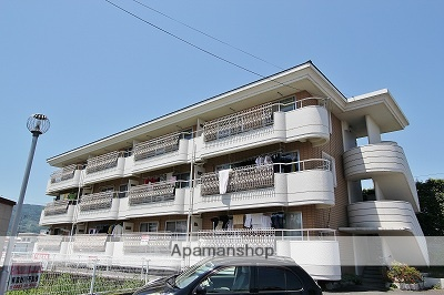 徳島県吉野川市、鴨島駅徒歩12分の築28年 3階建の賃貸マンション