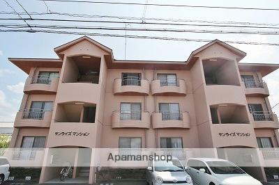 徳島県吉野川市、鴨島駅徒歩11分の築29年 3階建の賃貸マンション