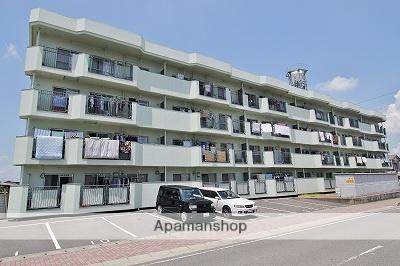 徳島県吉野川市、鴨島駅徒歩12分の築32年 4階建の賃貸マンション