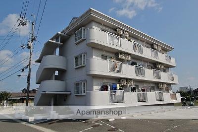 徳島県吉野川市、鴨島駅徒歩4分の築23年 3階建の賃貸マンション