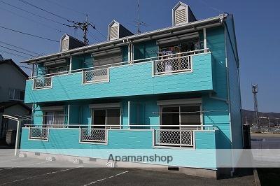 徳島県板野郡上板町、石井駅徒歩50分の築23年 2階建の賃貸アパート