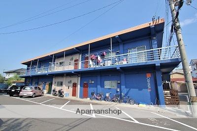 徳島県名西郡石井町、石井駅徒歩5分の築38年 2階建の賃貸アパート