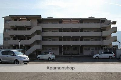 徳島県美馬市、穴吹駅徒歩35分の築21年 4階建の賃貸マンション