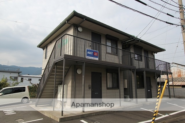 徳島県美馬市、穴吹駅徒歩40分の築13年 2階建の賃貸アパート