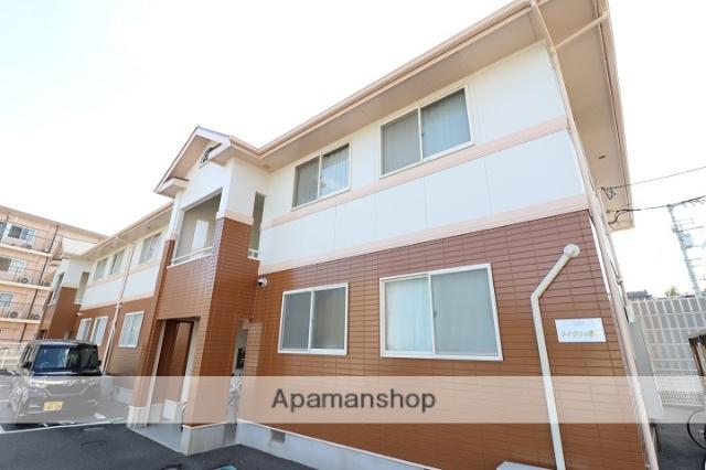 徳島県徳島市の築20年 2階建の賃貸アパート