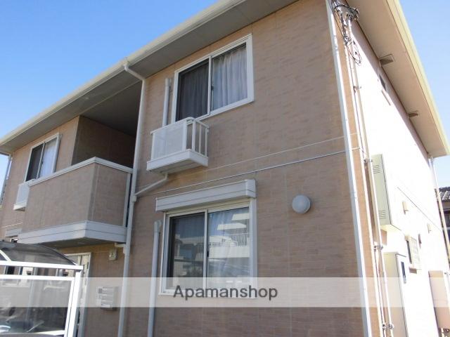 徳島県徳島市、二軒屋駅徒歩10分の築7年 2階建の賃貸アパート