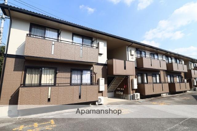 徳島県徳島市、文化の森駅徒歩17分の築20年 2階建の賃貸アパート