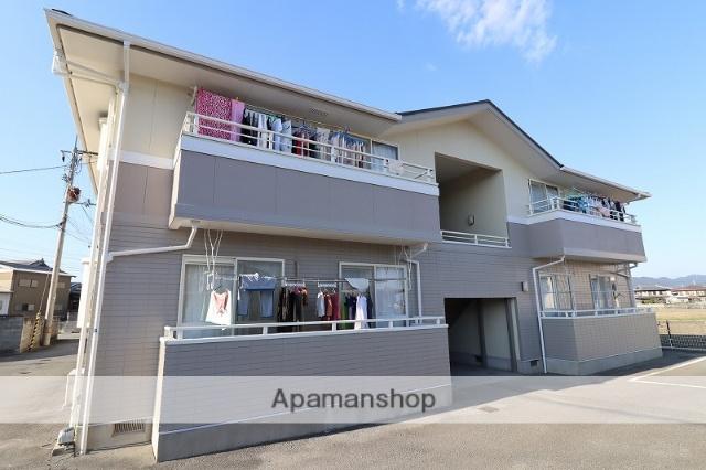 徳島県板野郡藍住町の築21年 2階建の賃貸アパート