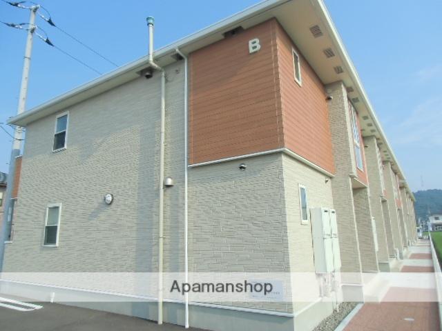 徳島県名西郡石井町の築4年 2階建の賃貸アパート