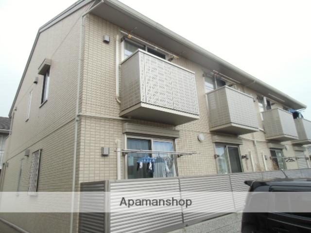 徳島県板野郡藍住町の築6年 2階建の賃貸アパート