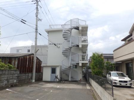 徳島県徳島市の築43年 3階建の賃貸マンション