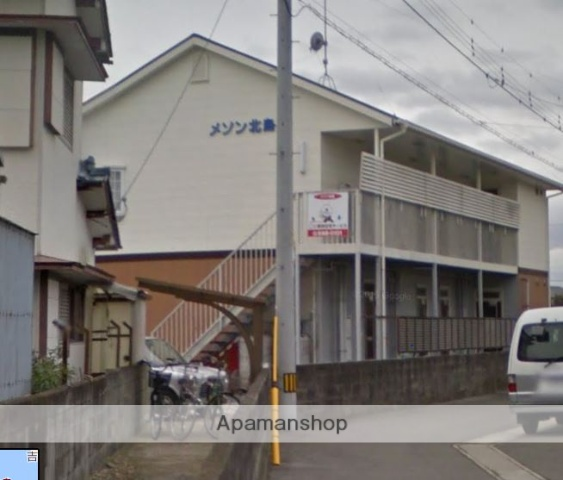 徳島県板野郡北島町、勝瑞駅徒歩7分の築18年 2階建の賃貸アパート