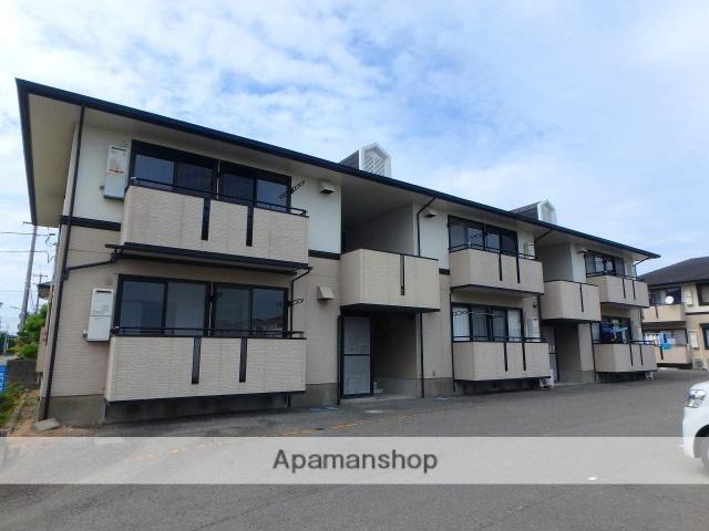徳島県鳴門市の築21年 2階建の賃貸アパート
