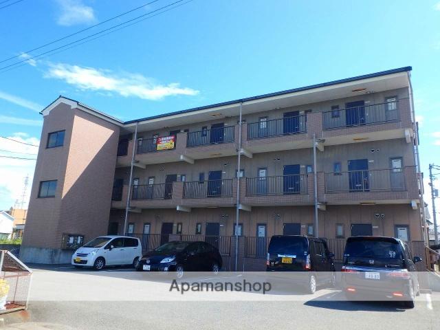 徳島県板野郡藍住町、勝瑞駅徒歩17分の築16年 3階建の賃貸アパート