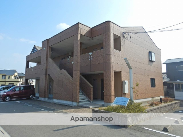 徳島県徳島市、府中駅徒歩16分の築10年 2階建の賃貸アパート