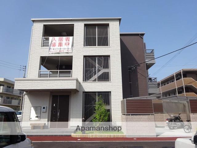 徳島県徳島市、佐古駅徒歩20分の新築 3階建の賃貸アパート
