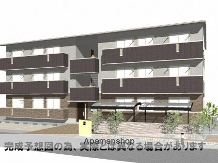徳島県徳島市、阿波富田駅徒歩21分の新築 3階建の賃貸アパート