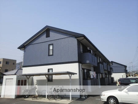 徳島県徳島市、二軒屋駅徒歩8分の築20年 2階建の賃貸アパート