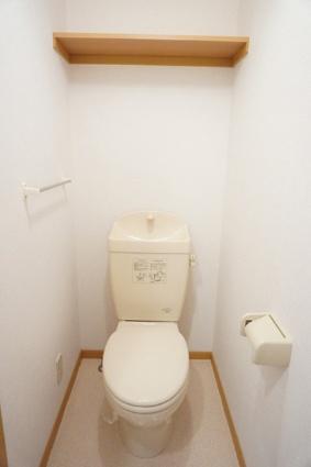 アルト・アルベロB[1K/33.15m2]のトイレ