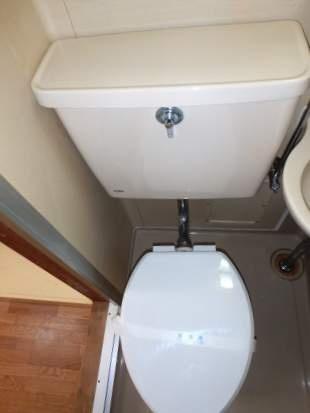 グリーンハイム[1K/18.26m2]のトイレ