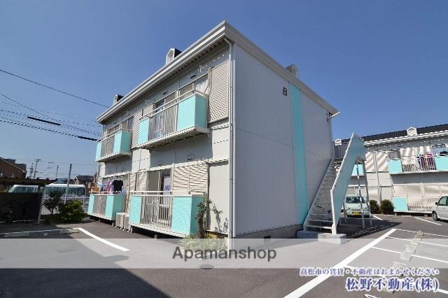 香川県高松市、林道駅徒歩14分の築28年 2階建の賃貸アパート