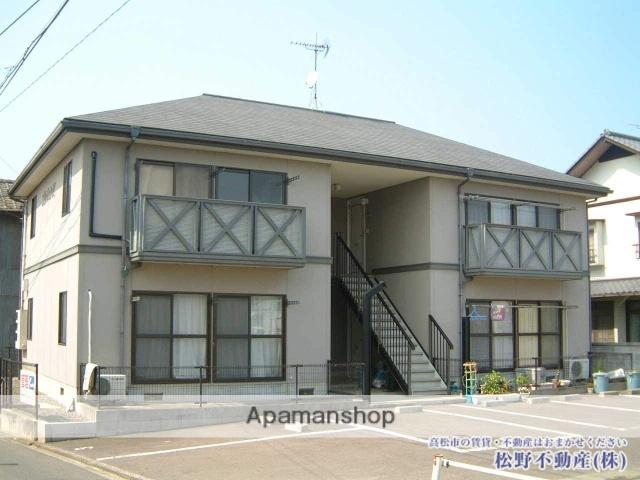 香川県高松市、塩屋駅徒歩11分の築22年 2階建の賃貸アパート