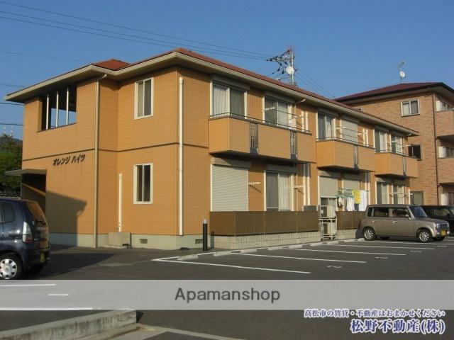 香川県高松市、水田駅徒歩28分の築12年 2階建の賃貸アパート