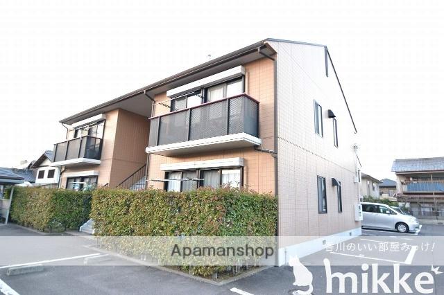 香川県高松市、林道駅徒歩19分の築20年 2階建の賃貸アパート