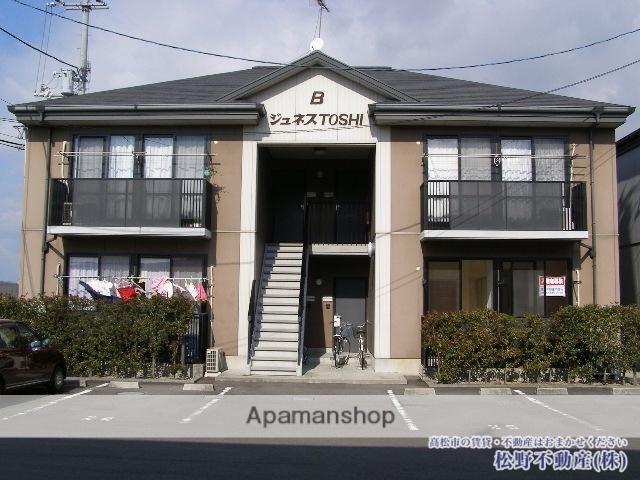 香川県高松市、高田駅徒歩10分の築18年 2階建の賃貸アパート
