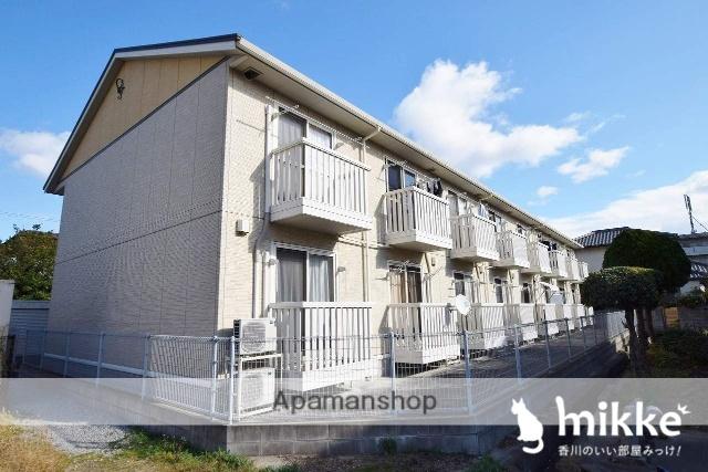 香川県高松市、太田駅徒歩5分の築10年 2階建の賃貸アパート