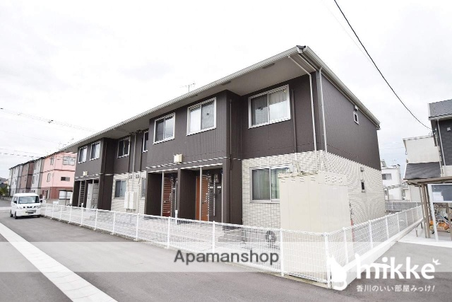 香川県高松市、端岡駅徒歩27分の築4年 2階建の賃貸アパート
