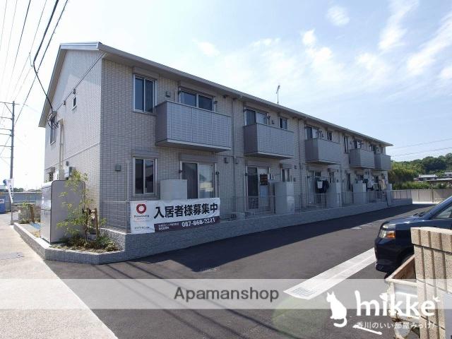 香川県木田郡三木町、井戸駅徒歩2分の新築 2階建の賃貸アパート
