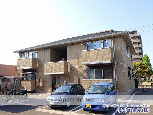香川県高松市、元山駅徒歩25分の築7年 2階建の賃貸アパート