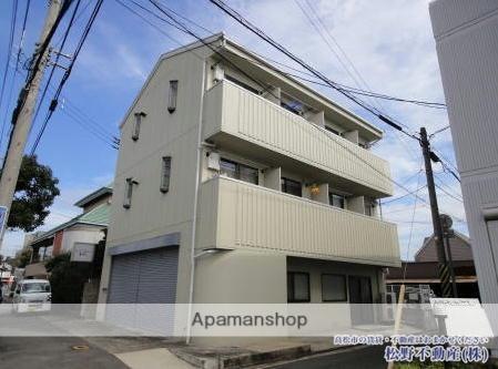 香川県高松市、今橋駅徒歩14分の築26年 3階建の賃貸マンション