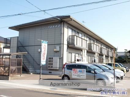 香川県高松市、木太町駅徒歩4分の築14年 2階建の賃貸アパート