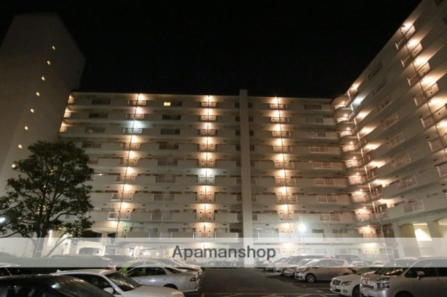 香川県高松市、高松駅徒歩9分の築41年 10階建の賃貸マンション