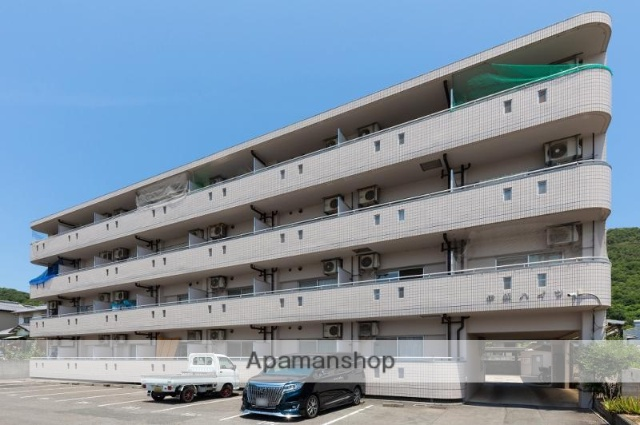 香川県高松市、昭和町駅徒歩38分の築23年 4階建の賃貸マンション