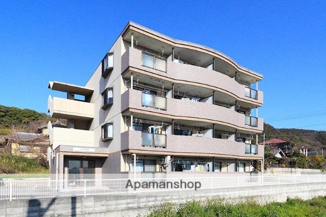 香川県高松市、岡本駅徒歩5分の築23年 4階建の賃貸マンション