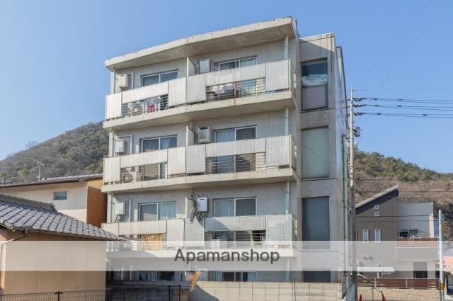 香川県高松市、栗林駅徒歩20分の築24年 4階建の賃貸マンション