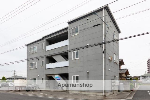 香川県高松市、三条駅徒歩19分の築22年 3階建の賃貸アパート